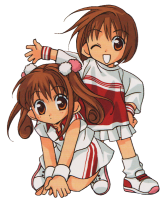 D.N.Angel - Harada Twins (transparent)