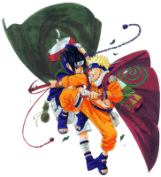 Naruto - Naruto And Sasuke (transparent)