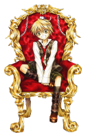 Pandora Hearts - Oz Vessalius (transparent)