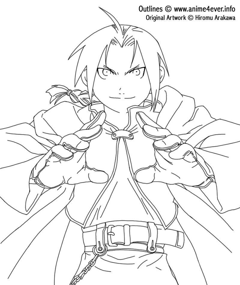 Fullmetal Alchemist LineArt