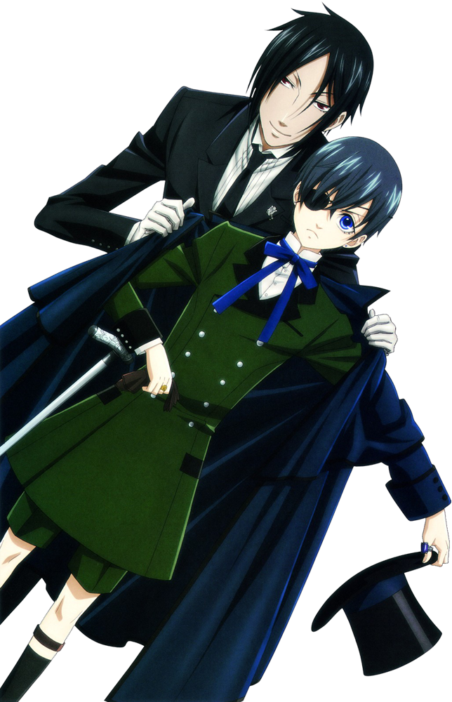 black butler  transparent